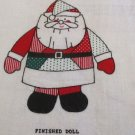 Moonwishes Stash Builders Crazy Patch Santa Doll Christmas MWCS#009