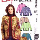 McCall's Sewing Pattern 5162 M5162 Misses Sizes 16-22 Easy Lined Jackets