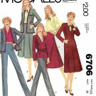 McCall's Sewing Pattern 6706 Misses Half-Size 12.5 Bust 35 Wardrobe Skirt Pants Jacket Blouse
