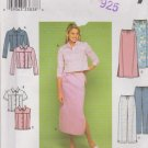 Simplicity Sewing Pattern 9155 Misses Sizes 12-18 Blue Jean Style Jacket Vest Skirt Pants