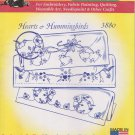 Aunt Martha's Hot Iron Transfers Hearts & Hummingbirds 3880 Embroidery