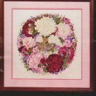 Bucilla Crewel 40871 The Garden Wreath II 14 x 14 Fabric & Instructions ONLY!
