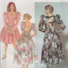 Simplicity Sewing Pattern 7567 Misses Sizes 6-10 Gathered Skirt Dress Sleeve Options