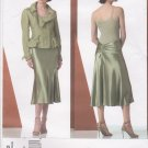 Vogue Sewing Pattern 2862 V2862 Misses Size 18-22 Bias Skirt Lined Button Front Jacket Suit DKNY