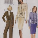 Vogue Sewing Pattern 7810 V7810 Misses Size 8-12 Fitted Jacket Skirt Pants Suit Pantsuit