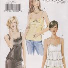 Vogue Sewing Pattern 7902 V7902 Misses Size 18-20-22 Fitted Bias Camisole Top
