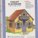 Craft Patterns Chalet Pllayhouse Y1678 8' x 10' x 10' Materials list Full-sized Plans