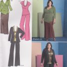 Simplicity Sewing Pattern 1945 Misses Size 10-18 Kahliah Ali Top Cardigan Pants Skirt