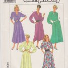 Simplicity Sewing Pattern 7800 Misses Size 10-14 Easy Classic Flared Skirt Dress