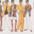 Butterick Sewing Pattern 3505 B3505 Misses Size 6-10 Easy Classic Wardrobe Top Shorts Pants