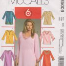 McCall's Sewing Pattern 5009 M5009 Womans Plus Size 18W-24W Easy Pullover Tunics Tops Kurtas