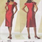 Vogue Sewing Pattern 2943 V2943 Misses Size 4-8 Bellville Sassoon Short Formal Party Dress