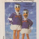 Simplicity Sewing Pattern 7731 Childs Size 6-8 Walt Disney Donald Duck Costume