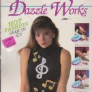 Dazzle Works Bucilla 63426 Easy Musical Notes Sequin Kit NEW
