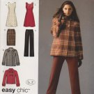 Simplicity Sewing Pattern 0502 2868 Misses Size 10-18 Easy Wardrobe Jumper Skirt Pants Jacket