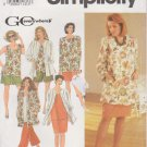 Simplicity Sewing Pattern 7298 Womens Plus Size 18W-24W Wardrobe Pants Skirt Top Jacket Shirt