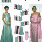 Simplicity Sewing Pattern 9466 Misses Size 14-20 Formal Prom Evening Tops Long Skirts  Wrap