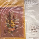 The Creative Circle Wooden Decoy 0330 Crewel Embroidery Kit Duck 12 x 16""