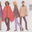 Butterick Sewing Pattern 6714 B6714 Misses' Sizes 6-10 Easy Hooded Poncho Pants