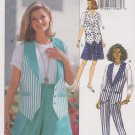 Butterick Sewing Pattern 6708 B6708 Misses Size 6-10 Easy Vest Shorts Pants