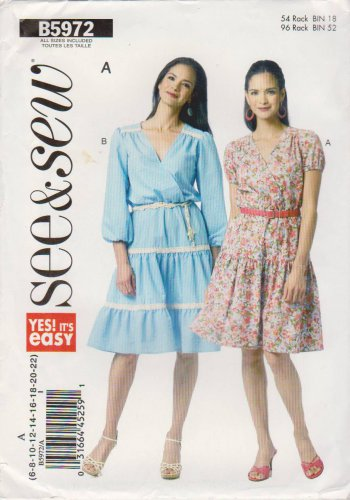 Butterick Sewing Pattern 5210 B5210 Misses Size 12-16 Easy Pants Three Styles