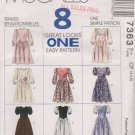 McCall's Sewing Pattern 7363 M7363 Girls Size 4-6 Easy Dress Variations