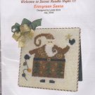 The Silver Needle Evergreen Santa by Linda Stolz Counted Cross Stitch Embroidery Kit