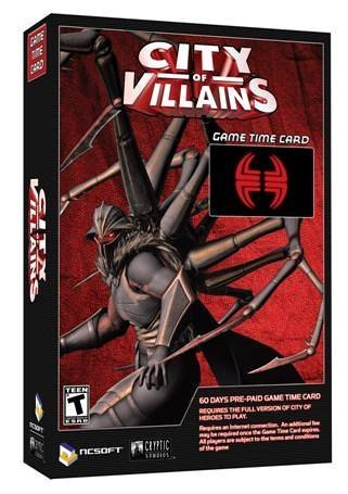 City of Villains 60 Day Pre-Paid Time Card