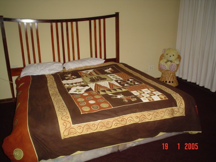 ethnic bed cover