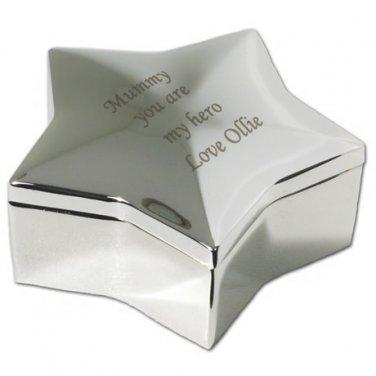 STAR SHAPE TRINKET BOX