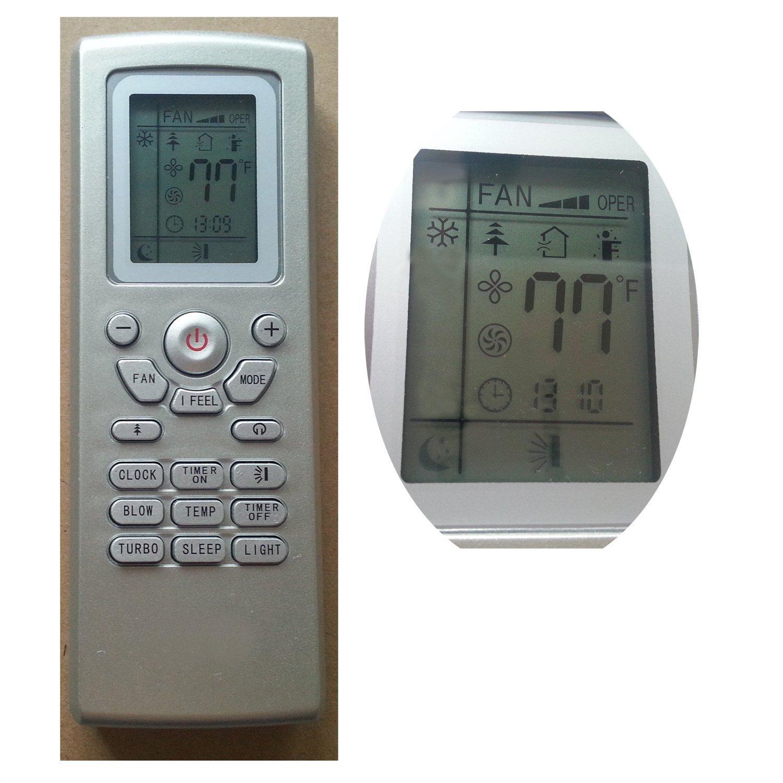 Gree Lennox York Vivax Gree Ge Air Conditioner Remote Control YT1FF  #5F4E3B