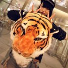 Trendy Cartoon Fashion 3D Tiger Head Yellow & White Backpack Bag Free Shipping