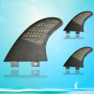 Black Color Surfboards Fiberglass FCS Base Surfboard Fins G5 SIZE 3 PCS SETS