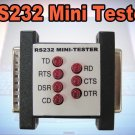 RS-232 PC DB-25 LPT Port Male to Female Signal Loopback test Checker Tester