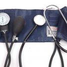 Check Blood Pressure Stethoscope Meter Aneroid Monitor Cuff Sphygmomanometer