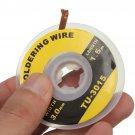 5 Feet /1.5M 3mm Desoldering Braid Solder Remover Wick Wire Repair Tool