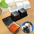 Ctrl 1Set Alt Button 3pcs Mugs Keyboard Key Cups Del Minimalist Home Decorative