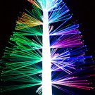 Changing Color multicolor USB Battery Powered Fiber Optic Christmas Tree III