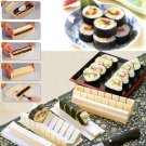 10PCS Sushi Maker Kit Rice Roll Mold Kitchen DIY Easy Chef Set Mould Roller Tool