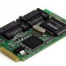 2 Port Mini PCI Express Internal 48 Bit LBA SATA II Raid 0 1 Controller Card