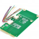 New Mini PCI E PCI Express PCIE to SATA SSD HDD USB Adapter Converter DIY