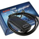 "USB 2.0 to Sata 2.5"" 3.5"" 40pin IDE Cable for HDD CD Drive W/Power Adapter Kit"