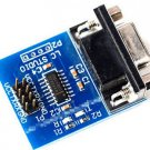 2X 5V 3.3V RS232 Serial Port to TTL Digital Converter Module Max 232 Jump Cables