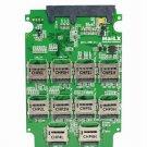 "Micro SD TF Memory Card x 10 to SATA SSD Adapter & RAID Quad 2.5"" SATA Converter"