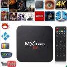 New KODI XBMC MXQ PRO 4K Amlogic S905 Quad Core Android TV Box Fully Loaded USPL