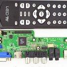 HDMI USB AV VGA ATV LA.MV29 Controller Board &10 LVDS Cable USB Programmer Kit