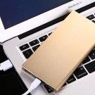 Ultra Slim thin 50000mAh Portable Charger Dual USB External Battery Power Bank