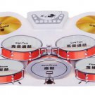 Silicone Electronic Jazz USB Roll Up Drum & pairs of Sticks Pedal Gift For Kids