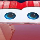 New Nice Cartoon Car Windshield Sun Shade Big Eyes Cars Lightning Front Red Cute