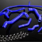Blue Silicone Radiator Coolant Hose Kit For VW GOLF GTI MK3 VR6 2.8 V6 94-98 BL